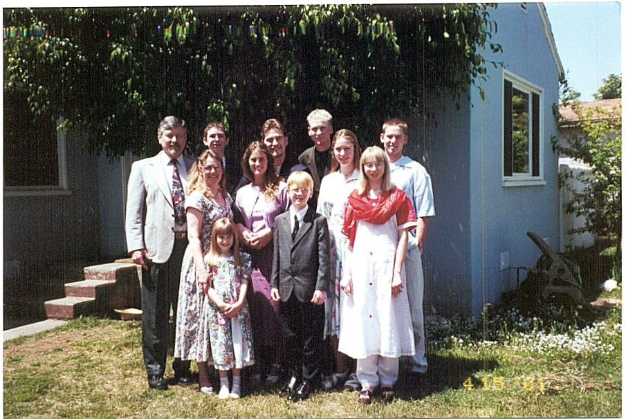 Tanksleys on Easter 2001 (before Denette!)