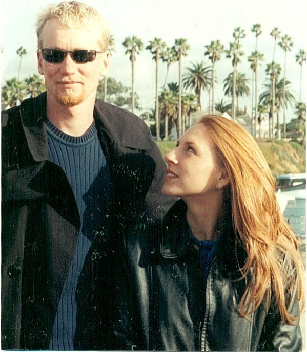 Steve & Denette at the Oceanside pier... memories!